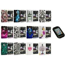 For HTC One Max T6 Design Hard Snap-On Rubberized Case Cover+Sticky Pad
