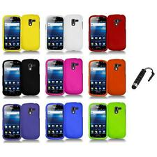 Color Hard Snap-On Case Skin Cover+Stylus Plug for Samsung Exhilarate i577