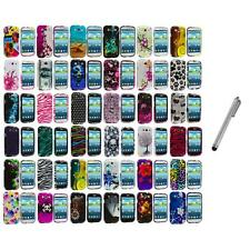 Design Hard Snap-On Case Cover Accessory+Metal Pen for Samsung Galaxy S III S3