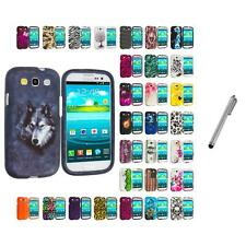 For Samsung Galaxy S3 Hard Design Snap-On Skin Case Cover Stylus Pen