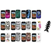 For Samsung Proclaim S720C Illusion Color Hard Design Case Cover+Cable Wrap