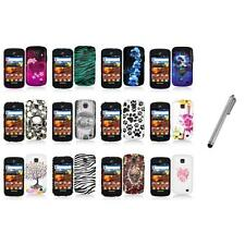 For Samsung Proclaim S720C Illusion Color Hard Design Case Cover+Stylus Pen
