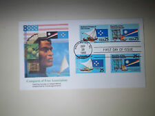 Micronesia Marshall Islands Fleetwood 9/28/90 FDC group of 3 2507a Combo Dual