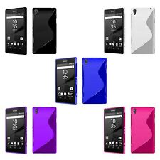 SONY XPERIA Z5 S-LINE SILICONE GEL COVER CASE PLUS FREE SCREEN PROTECTOR