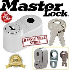 Master Lock Chrome Lug Nut Style Spare Tire Lock NEW Security for Tires