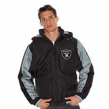 Men's Oakland Raiders G-III Sports Safety Hooded Full-Zip Jacket Sizes: L & XL