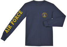 long sleeved t-shirt for men US Air Force t-shirt usaf tee shirt sleeve design
