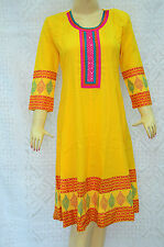 Indian Bollywood Anarkali Designer Salwar Kameez Ethnic Kurta Kurti Top Tunic