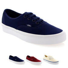 Womens Vans Authentic Lace Up Low Top Canvas Casual Plimsoll Trainers UK 2.5-8