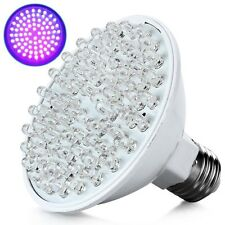 Ultra Bright E27 UV Ultraviolet Color Purple Light 80LED Lamp Bulb 110/220V Fine