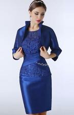 Fashion Womens Elegant Mother Dresses Formal Mother of The Bride Dress With Coat