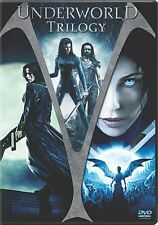 Underworld/Underworld: Evolution/Underworld: Rise Of The Lycans 3-Pack (DVD,...