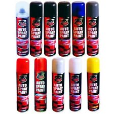 2xHigh Quality Auto Car Lacquer Gloss Matt Primer Spray Paint Aerosol Black Red