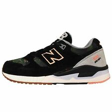 New Balance W530MOW B Floral Steel Black Green Womens Running Shoes W530MOWB