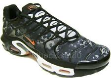 Nike Air Max Plus TXT Tn Tuned 1 Black Grey Camo Red Mens Trainers 647315 080