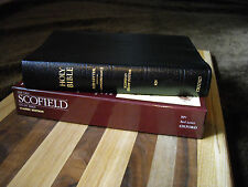 1945 Black Leather Scofield KJV Study Reference Bible