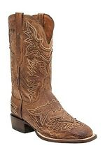 Lucchese CL7965 Mens Barnwood Smooth Ostrich Leather Western Cowboy Boots