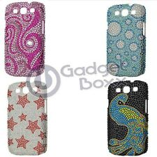 BLING RHINESTONE HARD SKIN CASE COVER FOR SAMSUNG GALAXY S3 I9300