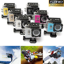 "HD 720P Sports Car Waterproof Helmet Camera Camcorder Video DV SJ4000 2.0"" Inch"