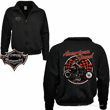 Sweatshirt Zip Jacket Biker Motorcycle Classic Car Motorcycle Racer Sweater 4098