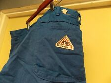 Workrite Flame-Resistant 7.5-oz. Nomex IIIA Pants w/ Safety Stripes, Royal Blue