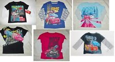 Disney Cars Toddler Boys Long Sleeve Various T-Shirts Sizes 2T, 3T and 4T NWT