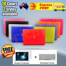 "Matte Crystal Case+ Keyboard Cover + Film For Macbook Air Pro Retina 11"" 12"" 13"""