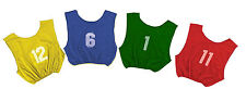 New Champion Dozen Youth All Sport NUMBERED 1-12 PINNIES Scrimmage Vest 4 Colors