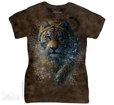 New The Mountain Tiger Splash Womens T Shirt