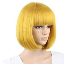Cosplay Party Full Wigs Sexy Women Short Straight Hair Bob Hair Wig 13 Colors