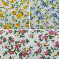 Albert Road Flowers Floral Spring Vines Polycotton Fabric