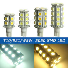 1x/10x T10 W5W/921 13/18/24/30 5050 SMD LED Light Bulb DC12V/AC/DC12-24V Lamp #D