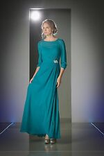 Long Sleeve Mother of the Bride Dress Plus Size Evening Gown