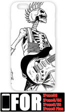 Cartoon Cool Skull Guitar Funny Pattern Hard Case Cover For iPhone  6Plus 6 5s