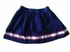 NWT Girl's Gymboree Star Spangled Banner July 4th blue elastic skirt ~ 4 6 7 8