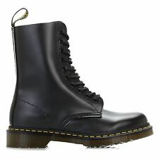 Dr.Martens 1490Z Black Smooth Leather Womens Boots - 11857001