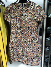 ZARA JACQUARD STRAIGHT DRESS XS-L Ref.8342/032