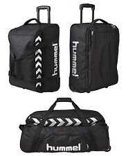 HUMMEL AUTHENTIC TEAM TROLLEY 60cm 44-100 Liter NEW100€ Gym traveling suitcase
