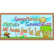 Sign - Grandmother - Grandkids -  - Mother's Day - GS 2318 Family sign  Wood