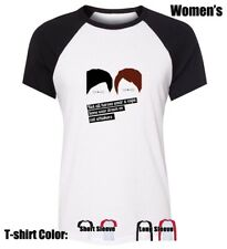 DAN AND PHIL cat whiskers Graphic Tees Womens Ladies Girl's Cotton T-Shirt Tops