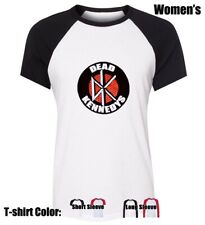 DEAD KENNEDYS Punk Rock Graphic Tees Womens Ladies Girl's Cotton T-Shirt Tops