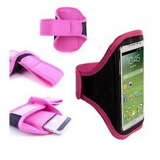 Pink Running Sport Armband GYM Skin Case Cover for Samsung Galaxy Phones 2016