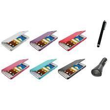 For Samsung At&t Galaxy S2 II i9100 Attain Wallet Pouch Case Cover+Charger+Pen
