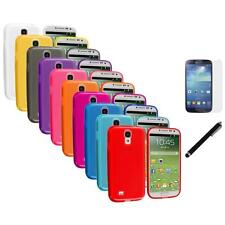 TPU Plain Skin Cover Case+LCD Film+Stylus for Samsung Galaxy S4 SIV i9500