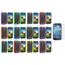 Hybrid TPU Hard Clear Cover+Screen Protector for Samsung Galaxy S4 SIV i9500