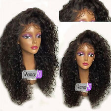 Hot Full Lace Wig Curly Human Hair Wig 100% Brazilian Human Hair Lace Front Wigs