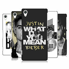 OFFICIAL JUSTIN BIEBER PURPOSE B&W BACK CASE FOR SONY PHONES 2