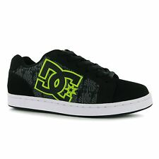 DC Serial Graffiti Skate Shoes Mens Black Trainers Sneakers