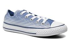 Kids's Converse Chuck Taylor All Star Ox Low rise Trainers in Blue