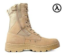"RIDGE DURAMAX 8"" DESERT ZIPPER TACTICAL BOOTS 3105 * ALL SIZES - M/W 6-14"